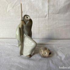 Antigüedades: FIGURA DE DAN JOSE, EN PORCELANA DE LLADRÓ, PARA RESRAURAR.. Lote 223680085