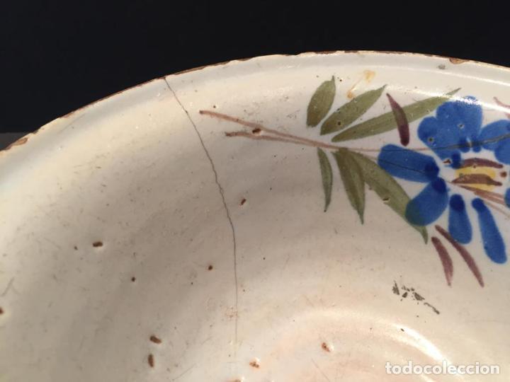 Antigüedades: CUENCO EN CERAMICA DE MANISES - SIGLO XIX - Foto 4 - 223706590