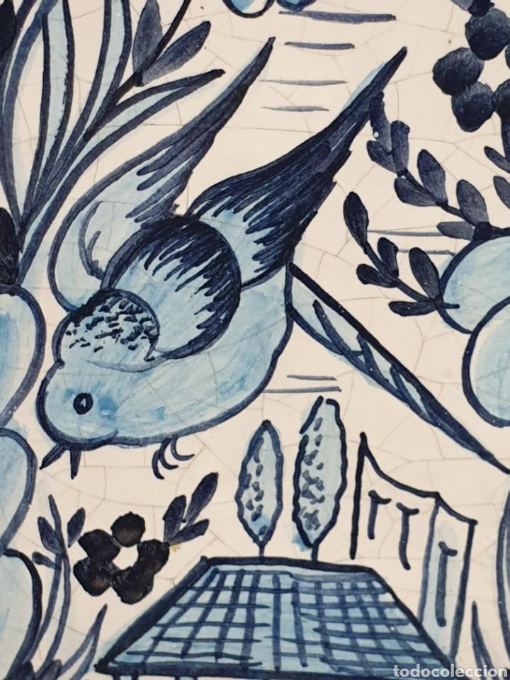 Antigüedades: Botella farmacia de cerámica vidriada de A. Melisa - Foto 2 - 223707070