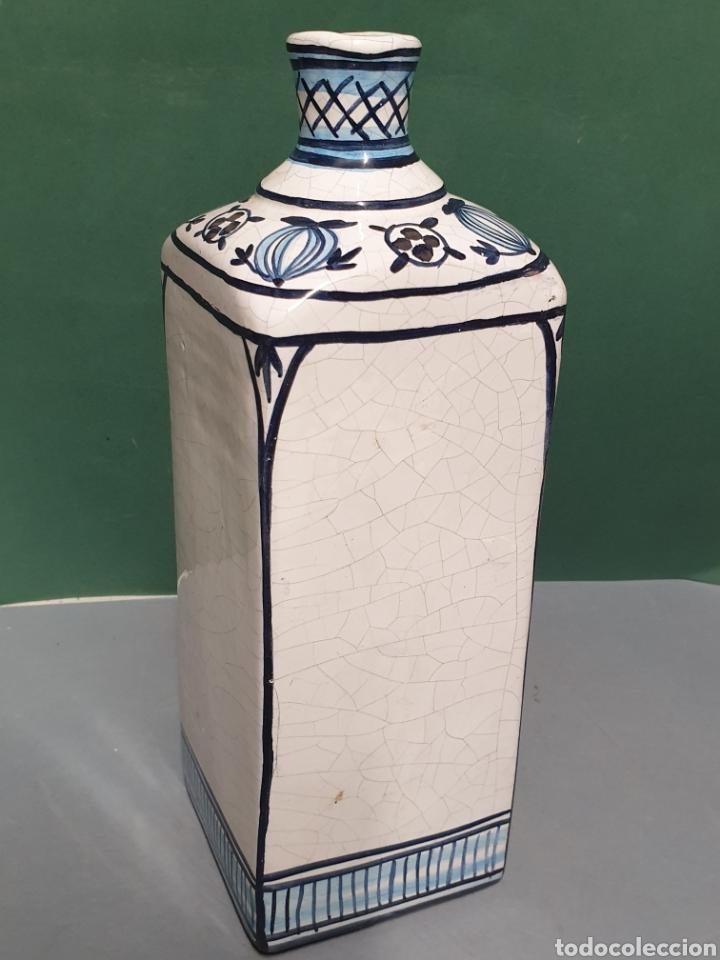 Antigüedades: Botella farmacia de cerámica vidriada de A. Melisa - Foto 3 - 223707070