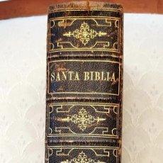 Antigüedades: BIBLIA ANTIGUA AÑO 1885 5TH EDICIÓN CRISTIANA PROTESTANTE NEW YORK. Lote 223708747