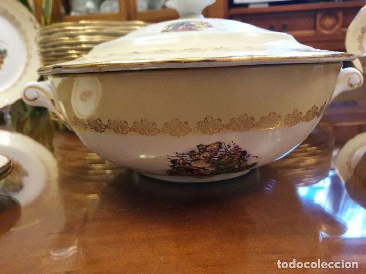 Antigüedades: Antigua vajilla francesa, una belleza - Foto 7 - 223751911