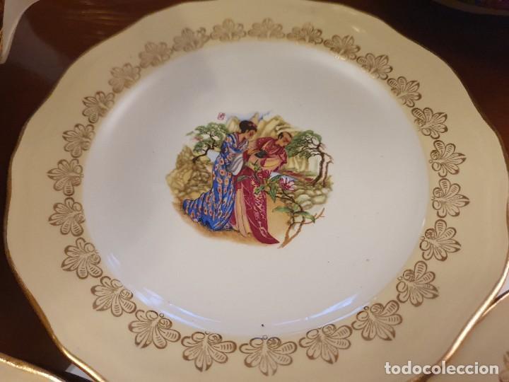 Antigüedades: Antigua vajilla francesa, una belleza - Foto 14 - 223751911