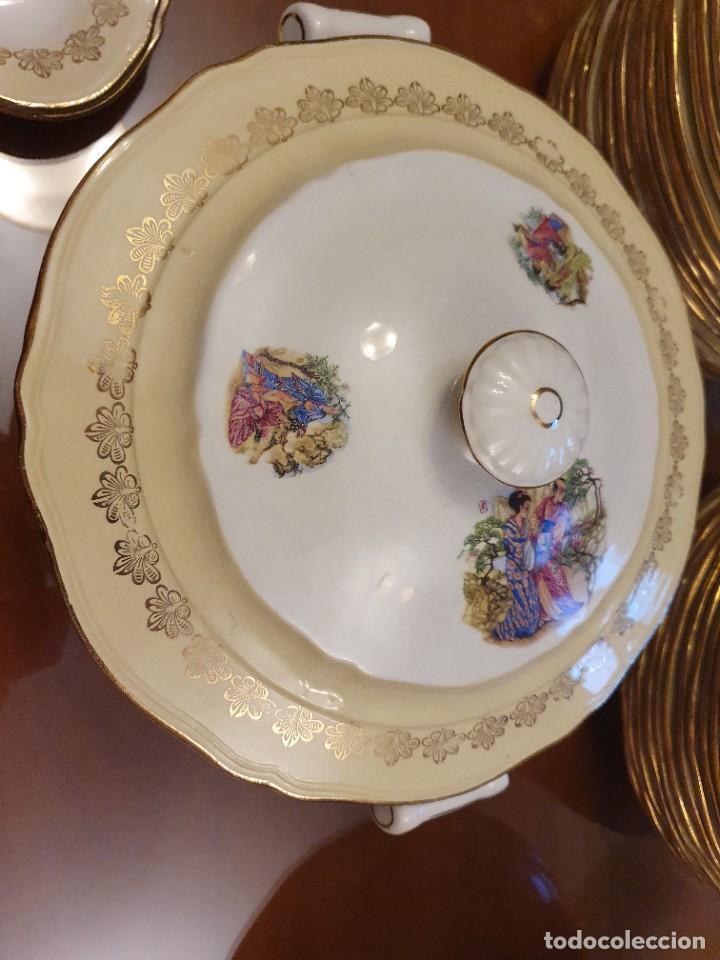 Antigüedades: Antigua vajilla francesa, una belleza - Foto 16 - 223751911