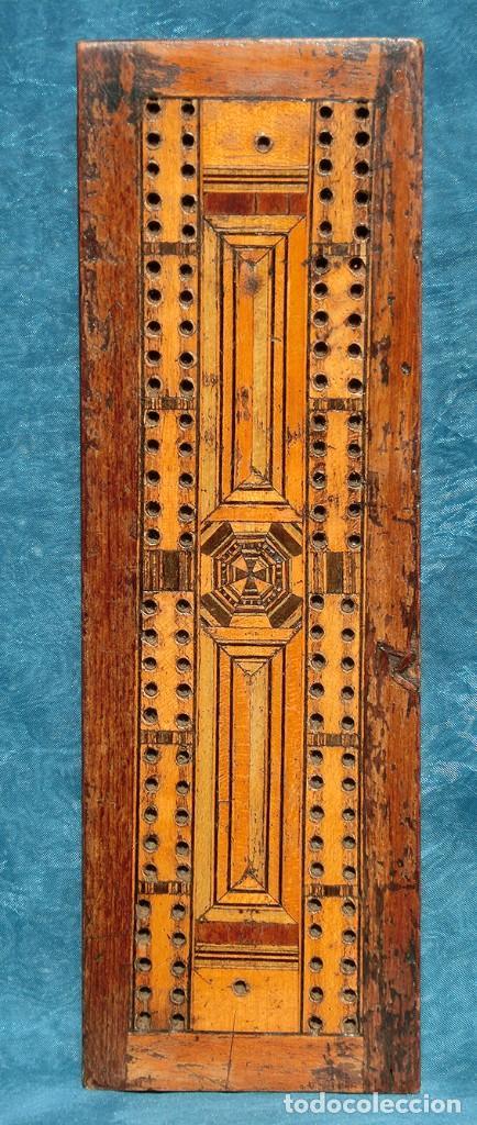 Antigüedades: ANTIGUA Y PRECIOSA TAPA DE MADERA - MARQUETERÍA - JUEGO - INCENSARIO - AMBIENTADOR - DECORACIÓN - Foto 2 - 223848700