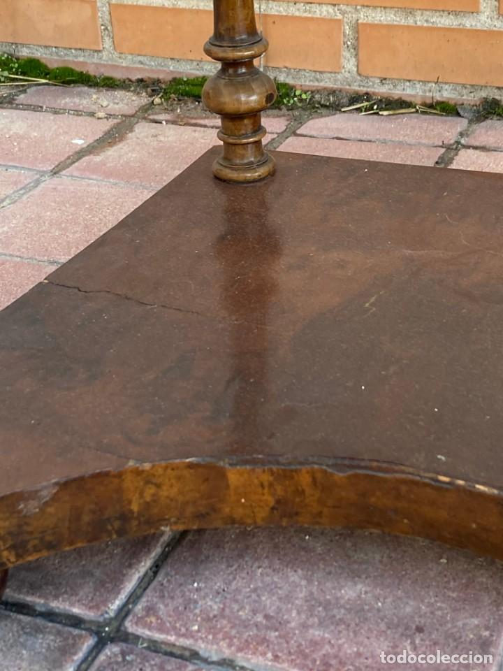 Antigüedades: MUEBLE AUXILIAR ESCRITORIO DAVENPORT INGLES TAPA ABATIBLE 82X52X46CMS - Foto 12 - 223897722