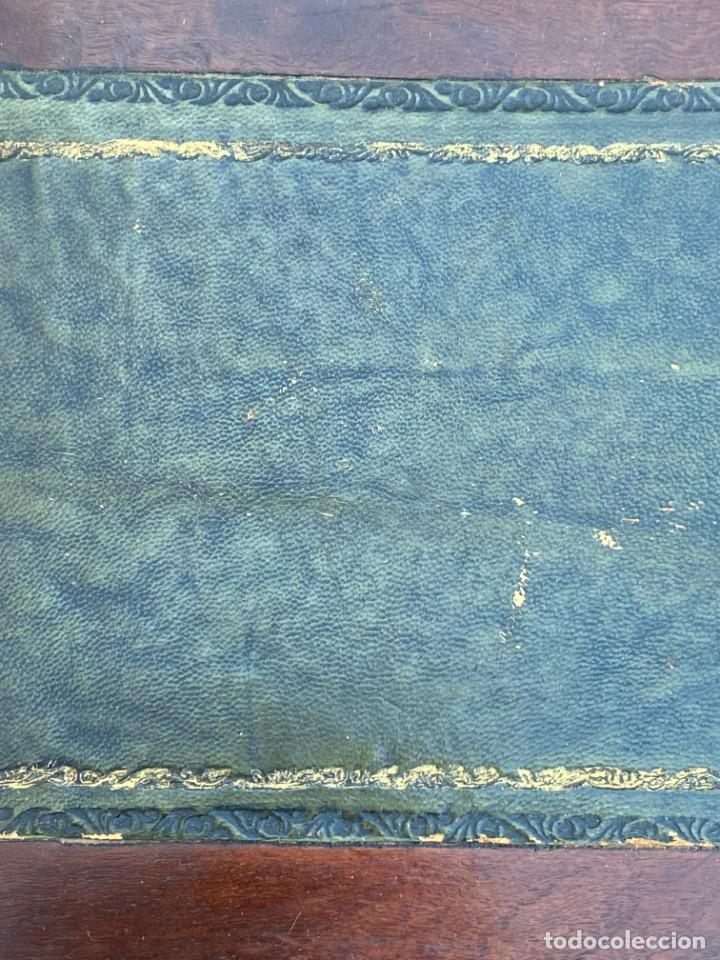 Antigüedades: MUEBLE AUXILIAR ESCRITORIO DAVENPORT INGLES TAPA ABATIBLE 82X52X46CMS - Foto 21 - 223897722