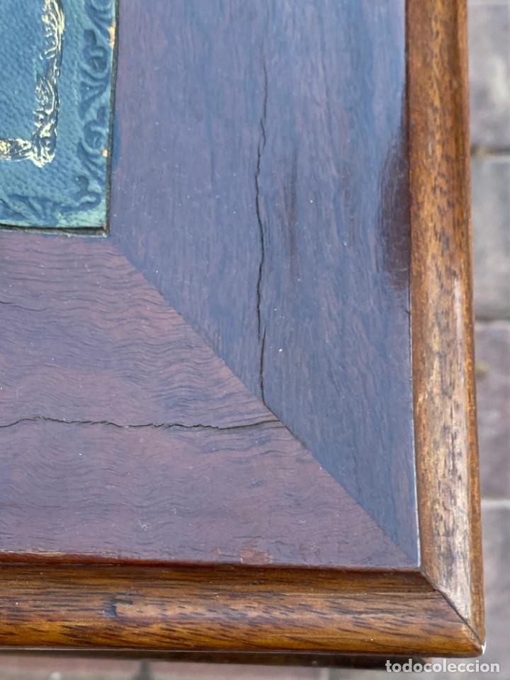Antigüedades: MUEBLE AUXILIAR ESCRITORIO DAVENPORT INGLES TAPA ABATIBLE 82X52X46CMS - Foto 31 - 223897722