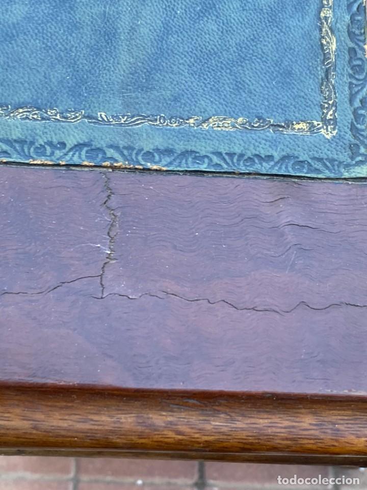 Antigüedades: MUEBLE AUXILIAR ESCRITORIO DAVENPORT INGLES TAPA ABATIBLE 82X52X46CMS - Foto 32 - 223897722
