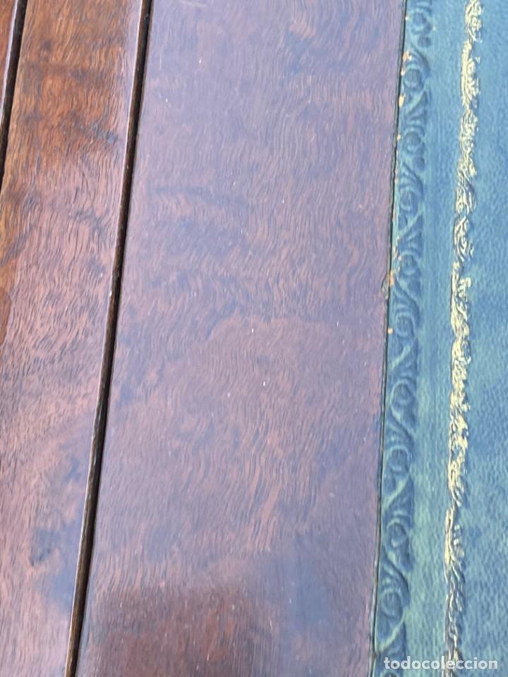 Antigüedades: MUEBLE AUXILIAR ESCRITORIO DAVENPORT INGLES TAPA ABATIBLE 82X52X46CMS - Foto 35 - 223897722