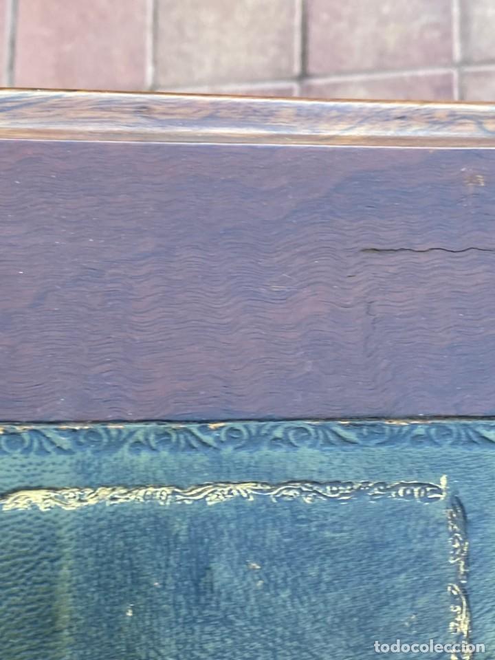 Antigüedades: MUEBLE AUXILIAR ESCRITORIO DAVENPORT INGLES TAPA ABATIBLE 82X52X46CMS - Foto 37 - 223897722