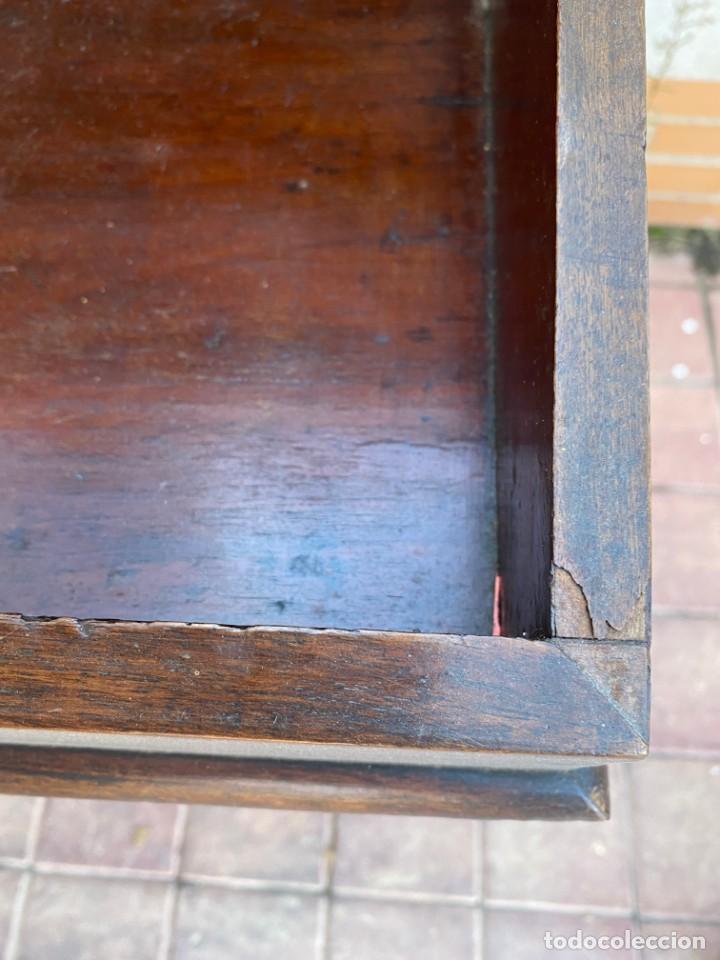 Antigüedades: MUEBLE AUXILIAR ESCRITORIO DAVENPORT INGLES TAPA ABATIBLE 82X52X46CMS - Foto 44 - 223897722