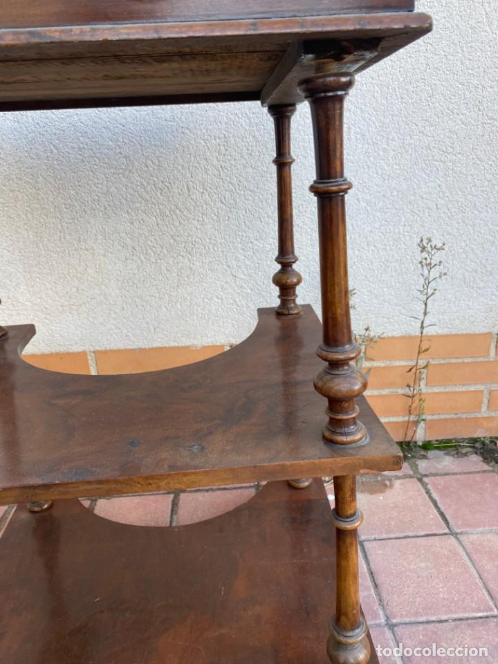 Antigüedades: MUEBLE AUXILIAR ESCRITORIO DAVENPORT INGLES TAPA ABATIBLE 82X52X46CMS - Foto 51 - 223897722