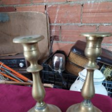 Antigüedades: ANTIGUOS CANDELABROS. Lote 223902065