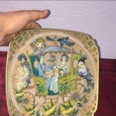 Antiquités: PLATO PORCELANA DE COLECCIÓN HUTSCHENREUTHER GERMANY EDICIÓN LIMITADA AÑOS 70 - VER LAS FOTOS. Lote 223944620