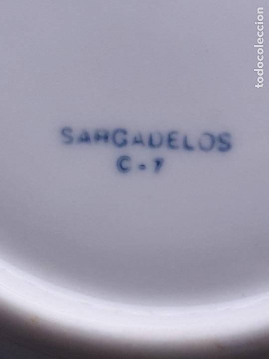 Antigüedades: Platillo Sargadelos. IX Feira de Fungos e Cogumelos. As Pontes 1998. - Foto 6 - 223949732