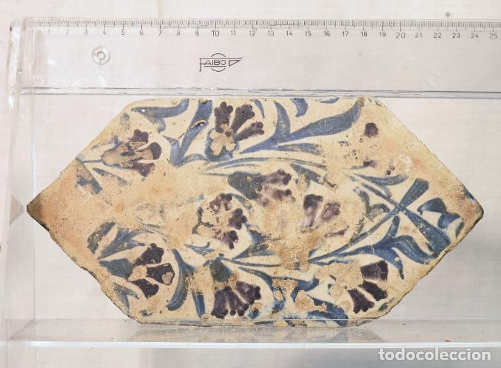 ALFARDON GOTICO VALENCIANO (Antigüedades - Porcelanas y Cerámicas - Manises)