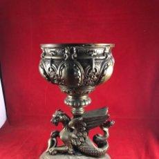 Antiquités: GRAN COPA DE BRONCE. Lote 224021053