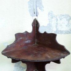 Antiguidades: RINCONERA DE CAOBA. SIGLO XIX. Lote 207757176