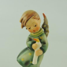 Antiquités: PRECIOSA FIGURA DE PORCELANA ALEMANA ANGEL ANGELITO. Lote 224053172