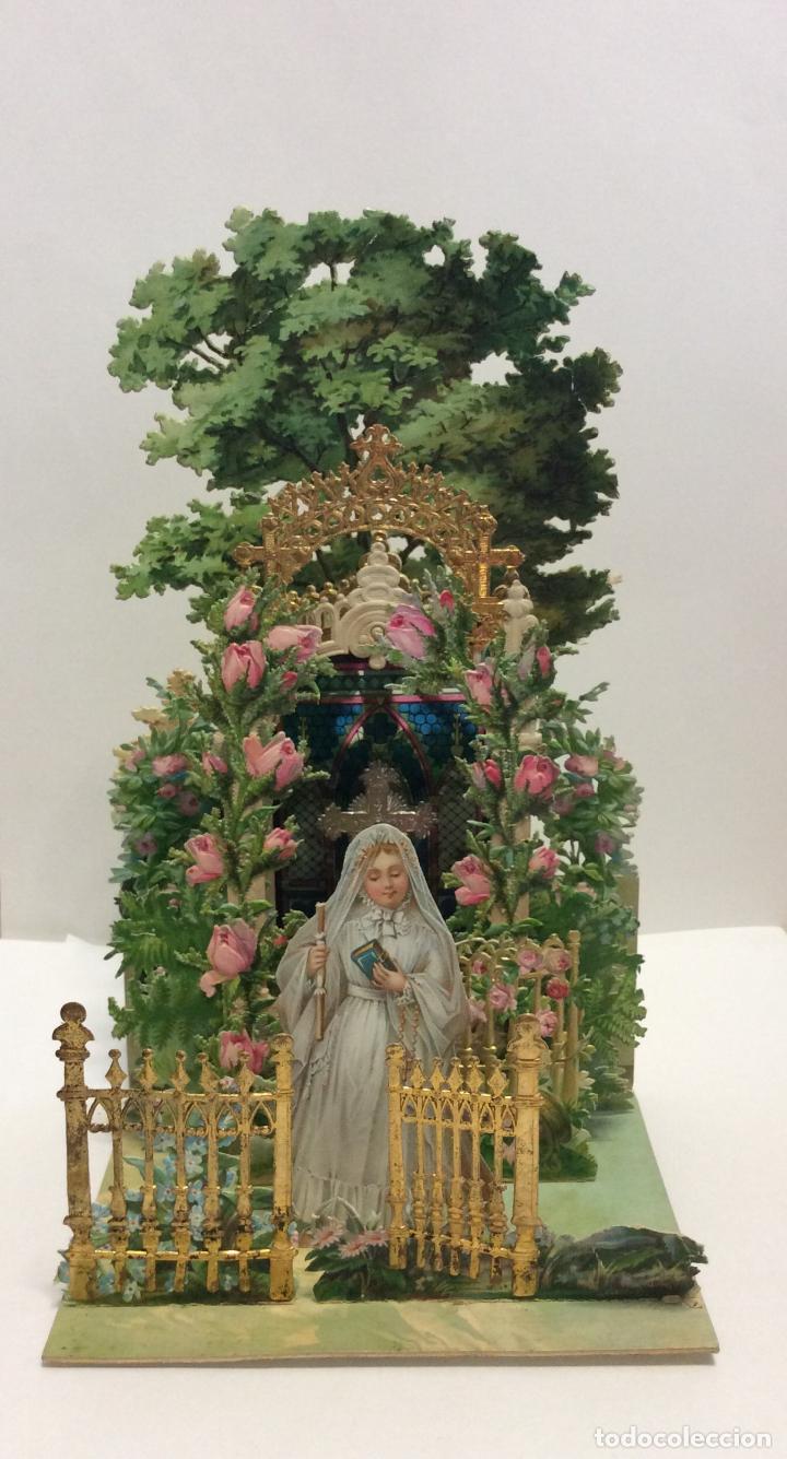 Antigüedades: Antiguo Diorama con motivos religiosos, Ideal coleccionistas - Foto 2 - 224059618