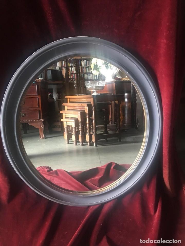 ESPEJO OVALADO (Antigüedades - Muebles Antiguos - Espejos Antiguos)