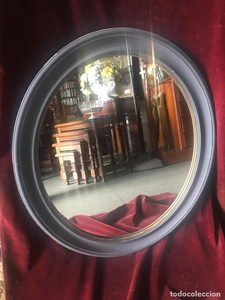 Antigüedades: Espejo ovalado - Foto 2 - 224072106