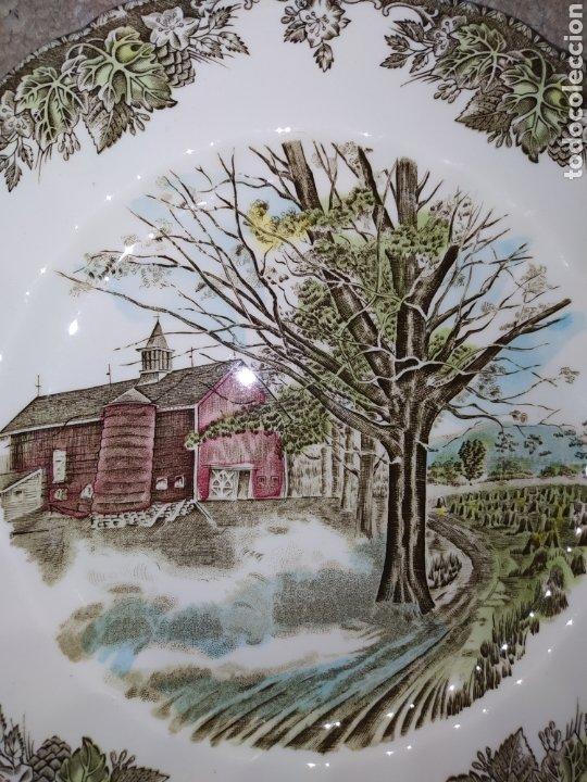 Antigüedades: Lote de 3 platos Johnson Bros - Foto 4 - 236883110