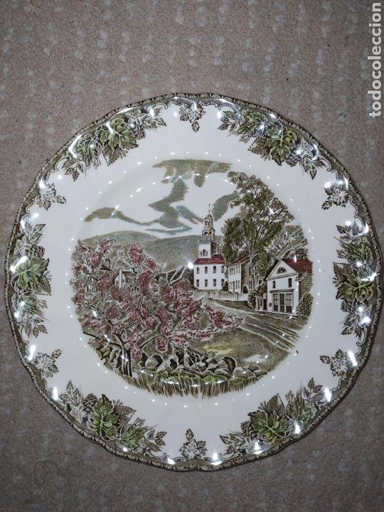 Antigüedades: Lote de 3 platos Johnson Bros - Foto 5 - 236883110