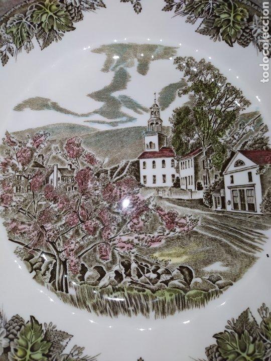 Antigüedades: Lote de 3 platos Johnson Bros - Foto 3 - 236883110