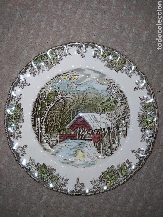 Antigüedades: Lote de 3 platos Johnson Bros - Foto 6 - 236883110