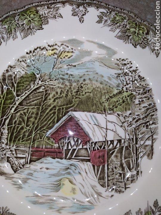Antigüedades: Lote de 3 platos Johnson Bros - Foto 7 - 236883110
