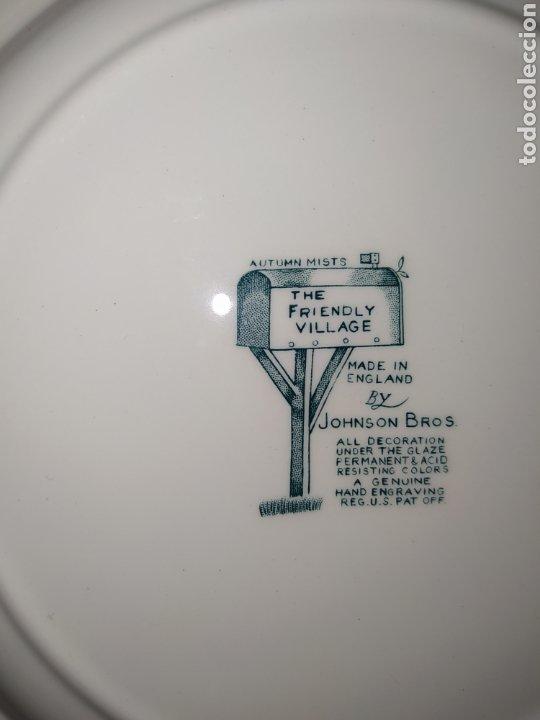 Antigüedades: Lote de 3 platos Johnson Bros - Foto 8 - 236883110