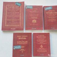 Antigüedades: 5 LIBROS FACSÍMILES RELATIVOS A LA VETERINARIA (1742-1873). ALBEITERÍA ZOOLOGÍA GANADO VACAS CABALLO. Lote 222883197