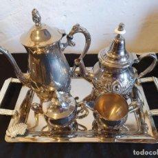 Antigüedades: PIEZAS DE TE Y CAFE ALPACAR. Lote 224150707