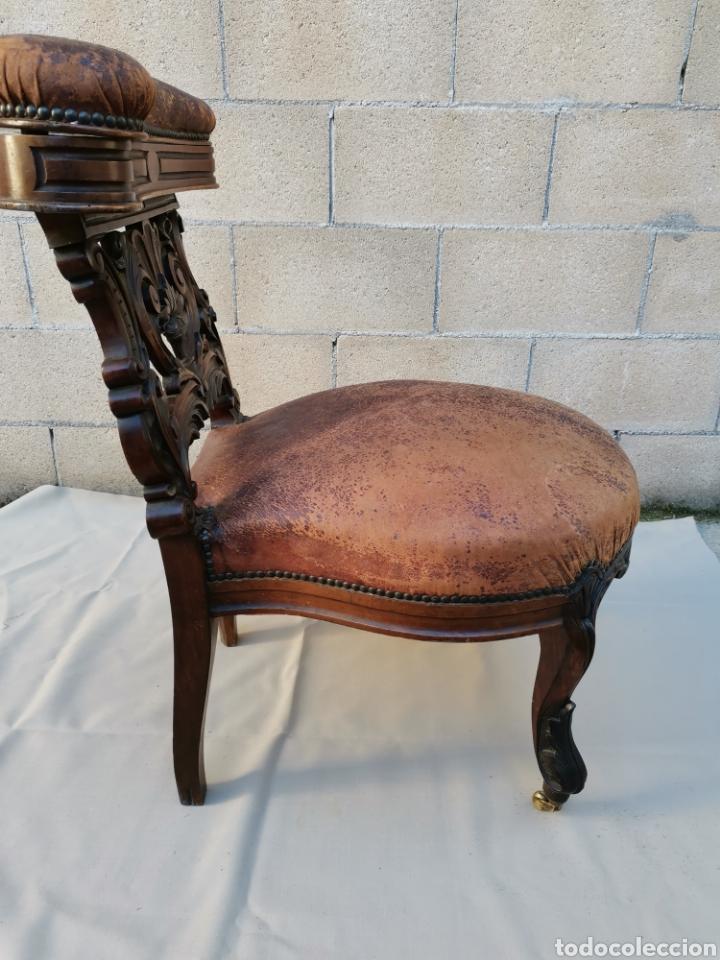 Antigüedades: Silla Victoriana del XIX - Foto 5 - 224158248