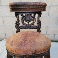 Antigüedades: SILLA VICTORIANA DEL XIX. Lote 224158248