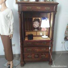 Antigüedades: MUEBLE ESCRITORIO BIEDERMEIER. Lote 224164353
