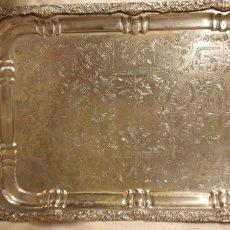 Antigüedades: BANDEJA DE PLATA SHEFFIELD DE PROCEDENCIA ÁRABE. Lote 224171515