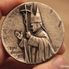 Antigüedades: MEDALLA RELIGIOSA 5CM ROMA ANNO JUBILAEI. SAN PAOLO, SAN PIETRO, S. GIOVANNI, S. MARIA..... Lote 224235600