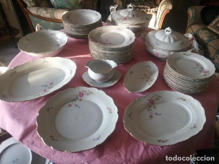 ANTIGUA VAJILLA CHECA,MADE IN CHECOSLOVAQUIA,PARA 12 COMENSALES COMPLETA 44 PIEZAS (Antigüedades - Porcelanas y Cerámicas - Otras)