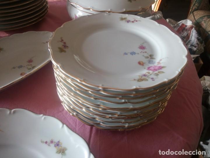 Antigüedades: Antigua vajilla checa,made in checoslovaquia,para 12 comensales completa 44 piezas - Foto 4 - 224247150