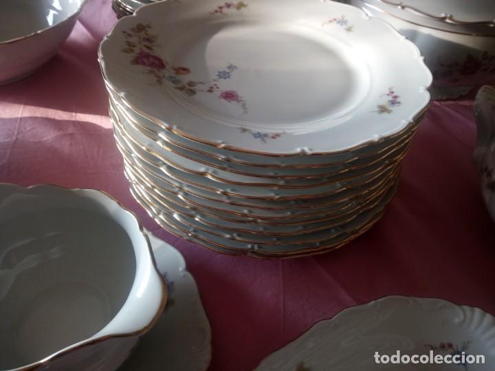 Antigüedades: Antigua vajilla checa,made in checoslovaquia,para 12 comensales completa 44 piezas - Foto 7 - 224247150