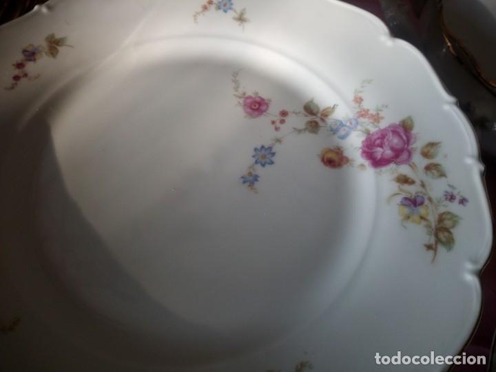Antigüedades: Antigua vajilla checa,made in checoslovaquia,para 12 comensales completa 44 piezas - Foto 8 - 224247150
