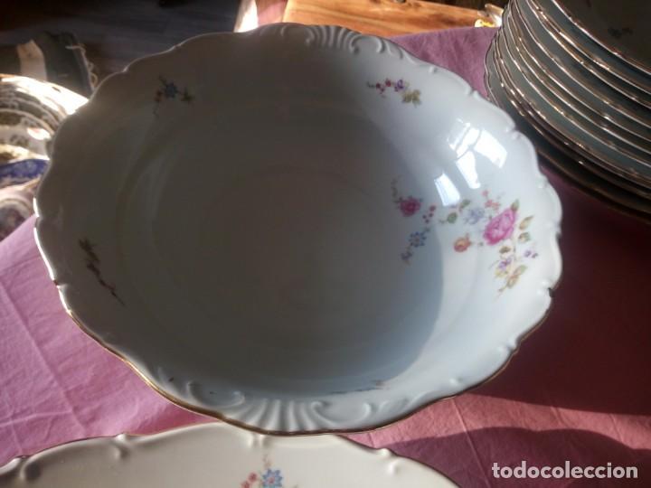 Antigüedades: Antigua vajilla checa,made in checoslovaquia,para 12 comensales completa 44 piezas - Foto 10 - 224247150
