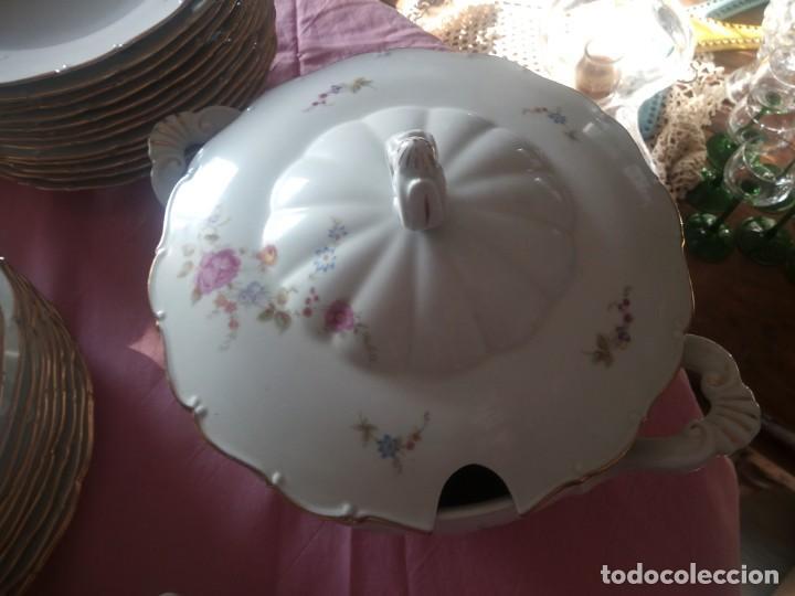Antigüedades: Antigua vajilla checa,made in checoslovaquia,para 12 comensales completa 44 piezas - Foto 15 - 224247150