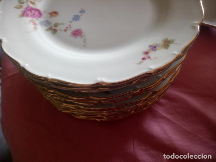 Antigüedades: Antigua vajilla checa,made in checoslovaquia,para 12 comensales completa 44 piezas - Foto 24 - 224247150