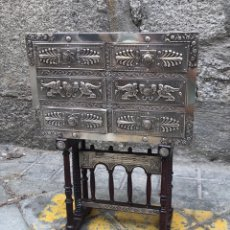 Antigüedades: BARGUEÑO DE PLATA. Lote 224262415