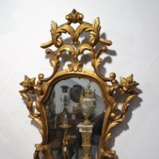 Antigüedades: CORNUCOPIA DE MADERA. Lote 224271515