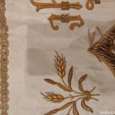 Antiguidades: FRENTE DE ALTAR BORDADO EN ORO. Lote 224285366